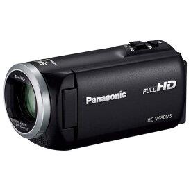 パナソニック 32GB内蔵メモリー デジタルハイビジョンビデオカメラ ブラック HC-V480MS-K [HCV480MSK]【RNH】【MTOP】
