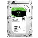 【送料無料】SEAGATE 3.5インチ内蔵ハードディスクドライブ(3TB) BarraCuda ST3000DM008 [ST3000DM008C]