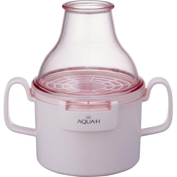 ドウシシャ お風呂用水素生成器 AQUA-H ピンク AHHF1601PK [AHHF1601PK]【RNH】