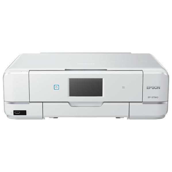 エプソン インクジェット複合機 Colorio ホワイト EP-979A3 [EP979A3]【RNH】