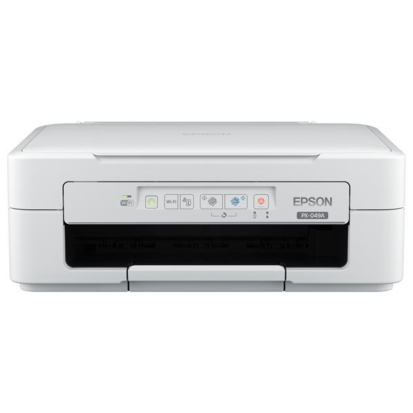 エプソン インクジェット複合機 Colorio ホワイト PX-049A [PX049A]【RNH】