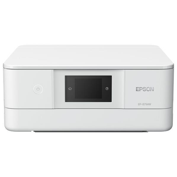 【送料無料】エプソン インクジェット複合機 Colorio ホワイト EP-879AW [EP879AW]【KK9N0D18P】【RNH】