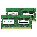 【送料無料】CFD DDR3L-1600対応 ノートPC用メモリ 204pin SO-DIMM(4GB×2枚組) CFD Selection Crucial b...
