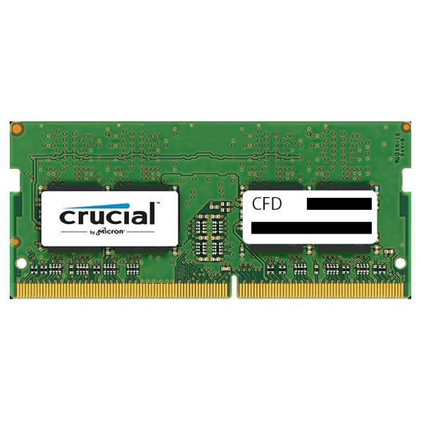 【送料無料】CFD DDR4-2400対応 ノートPC用メモリ 260pin SO-DIMM(16GB) CFD Selection Crucial by Micron D4N2400CM-16G [D4N2400CM16G]【ESLG】