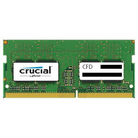 CFD DDR4-2400対応 ノートPC用メモリ 260pin SO-DIMM(16GB) CFD Selection Crucial by Micron D4N2400CM-16G [D4N2400CM16G]