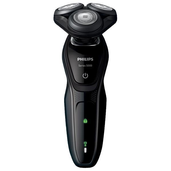 【送料無料】フィリップス 3枚刃シェーバー Shaver series 5000 ブラック S5076/06 [S507606]【SITA】【RNH】【JMRN】