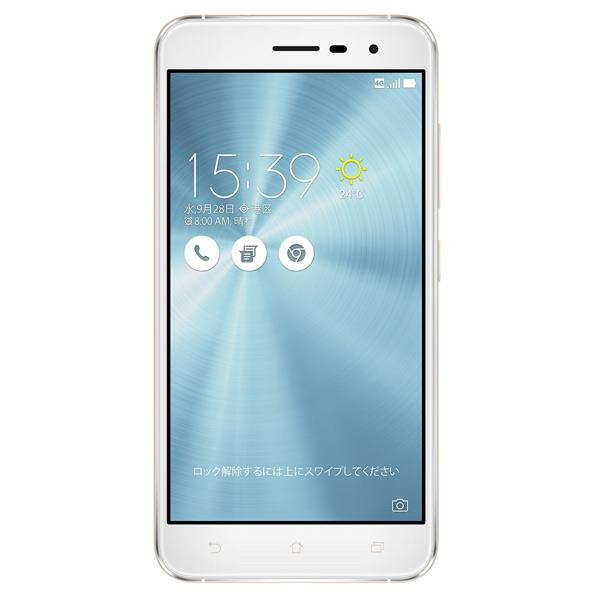 【送料無料】ASUS SIMフリースマートフォン ZenFone 3 パールホワイト ZE520KL-WH32S3 [ZE520KLWH32S3]