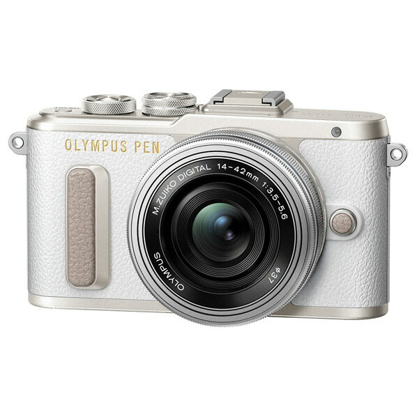 オリンパス デジタル一眼カメラ・14-42mm EZ レンズキット PEN ホワイト PEN E-PL8 14-42MM EZLKWHT [EPL8LKWHT]【RNH】