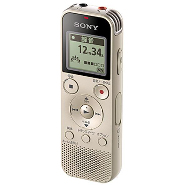 【送料無料】SONY ステレオICレコーダー(4GB) ゴールド ICD-PX470F N [ICDPX470FN]【RNH】