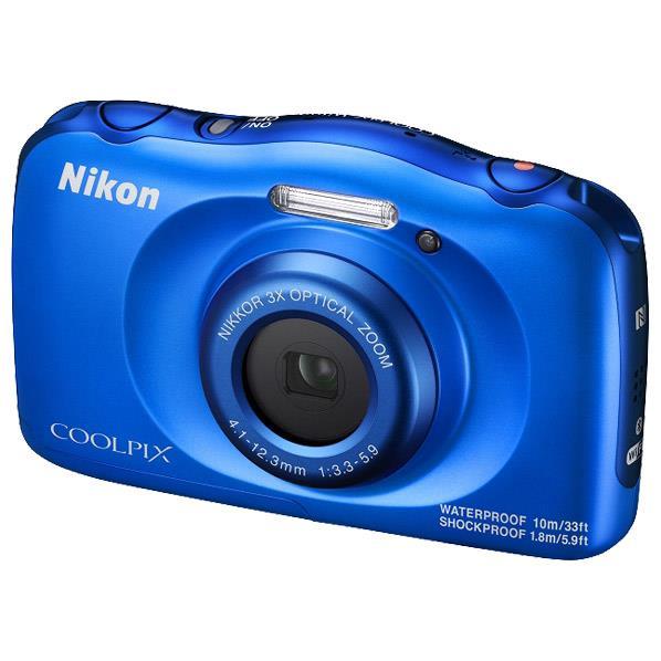 ニコン デジタルカメラ COOLPIX W100 ブルー COOLPIXW100BL [COOLPIXW100BL]【RNH】