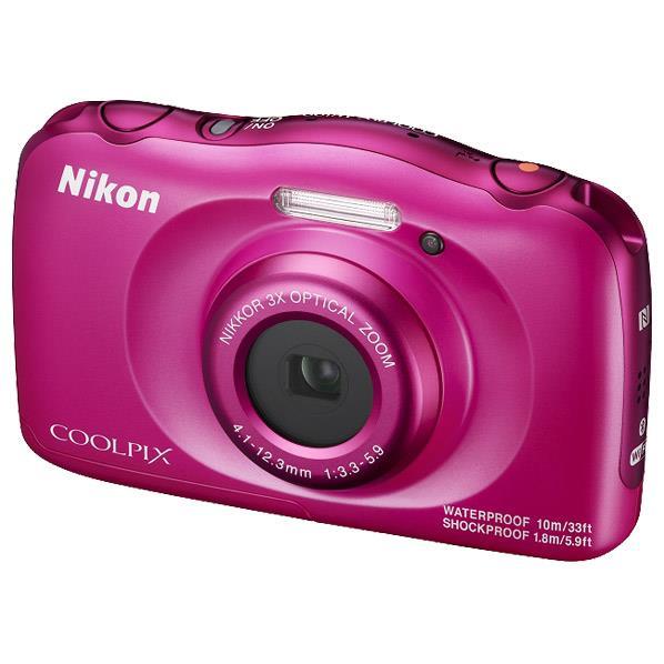 ニコン デジタルカメラ COOLPIX W100 ピンク COOLPIXW100PK [COOLPIXW100PK]【RNH】