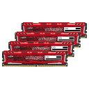 【送料無料】CFD Crucial ゲーミングモデル DDR4-2400 デスクトップPC用メモリ 288pin DIMM Heatsink搭載(8GB×4枚組)…