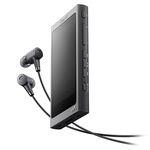 【送料無料】SONY デジタルオーディオプレーヤー(16GB) ウォークマン Aシリーズ チャコールブラック NW-A35HN B [NWA35HNB]【DZI】【RNH】