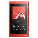 【送料無料】SONY デジタルオーディオプレーヤー(16GB) ウォークマン Aシリーズ シナバーレッド NW-A35 R [NWA35R]【D…