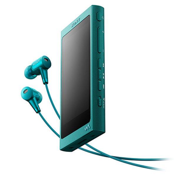 【送料無料】SONY デジタルオーディオプレーヤー(16GB) ウォークマン Aシリーズ ビリジアンブルー NW-A35HN L [NWA35HNL]【DZI】【RNH】