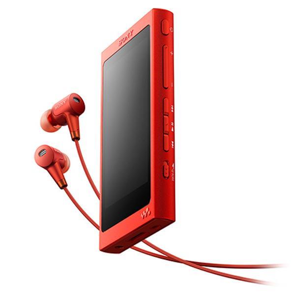 【送料無料】SONY デジタルオーディオプレーヤー(16GB) ウォークマン Aシリーズ シナバーレッド NW-A35HN R [NWA35HNR]【DZI】【RNH】