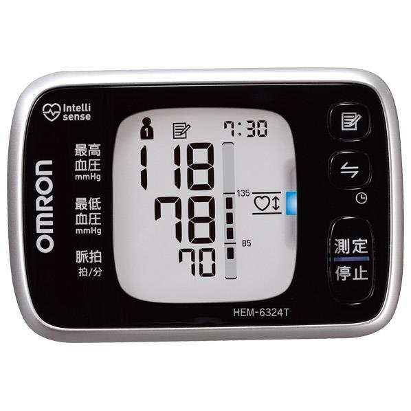 【送料無料】オムロン 手首式血圧計 HEM-6324T [HEM6324T]【RNH】