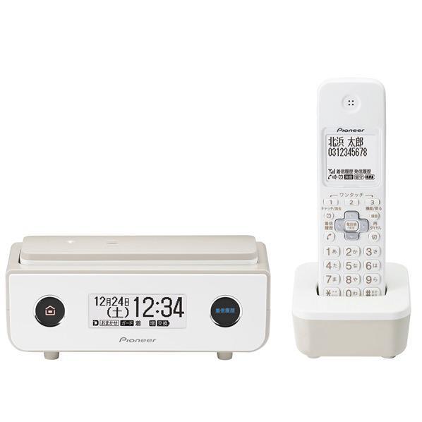 PIONEER デジタルコードレス電話機(子機1台タイプ) マロン TFFD35WTY [TFFD35WTY]【RNH】
