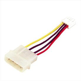オウルテック ペリフェラル電源4ピン-FDD4ピン用電源変換ケーブル(6.5cm) OWL-CBPU049 [OWLCBPU049]