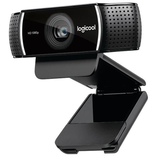ロジクール WEBカメラ Pro Stream Webcam ブラック C922 [C922]