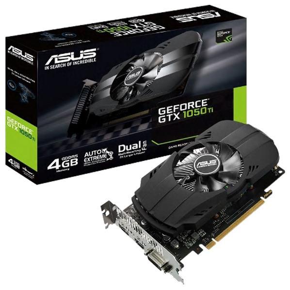 ASUSTEK グラフィックカード NIVIDIA GeForce GTX1050Ti PH-GTX1050TI-4G [PHGTX1050TI4G]
