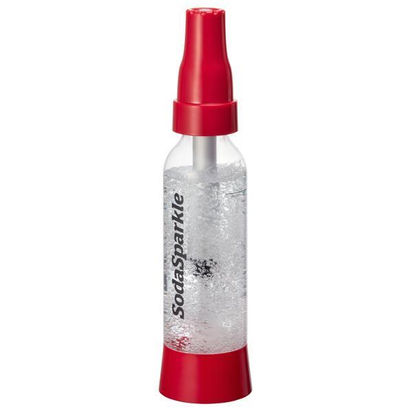 SodaSparkle 炭酸水メーカー スターターキット(1.0L) イージーモデル Home Soda Maker レッド SSK002-RD [SSK002RD]