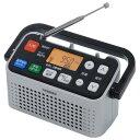 【送料無料】ツインバード 手元スピーカー機能付3バンドラジオ シルバー AV-J127S [AVJ127S]