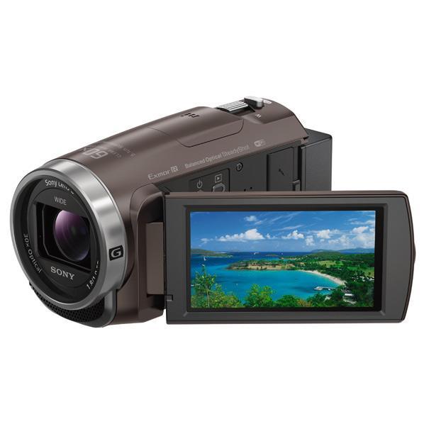 【送料無料】SONY 64GB内蔵メモリー デジタルHDビデオカメラレコーダー ハンディカム ブラウン HDR-CX680 TI [HDRCX680TI]【RNH】