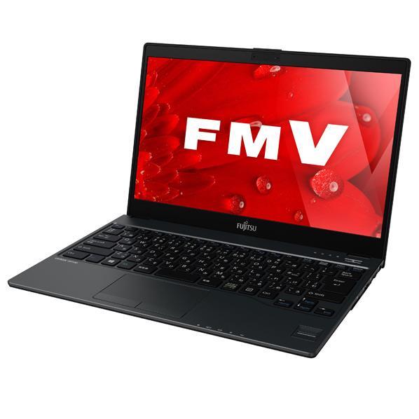 【送料無料】富士通 スタンダードモバイルノートパソコン KuaL LIFEBOOK ピクトブラック FMVU75B1BG [FMVU75B1BG]【RNH】