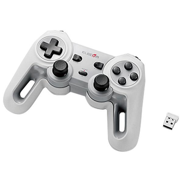エレコム 超高性能ワイヤレスゲームパッド ホワイト JC-U4113SWH [JCU4113SWH]