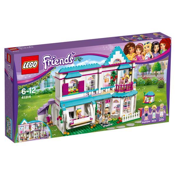 レゴジャパン LEGO フレンズ 41314 ステファニーのオシャレハウス 41314ステフアニ-ノオシヤレハウス [41314ステフアニ-ノオシヤレハウス]