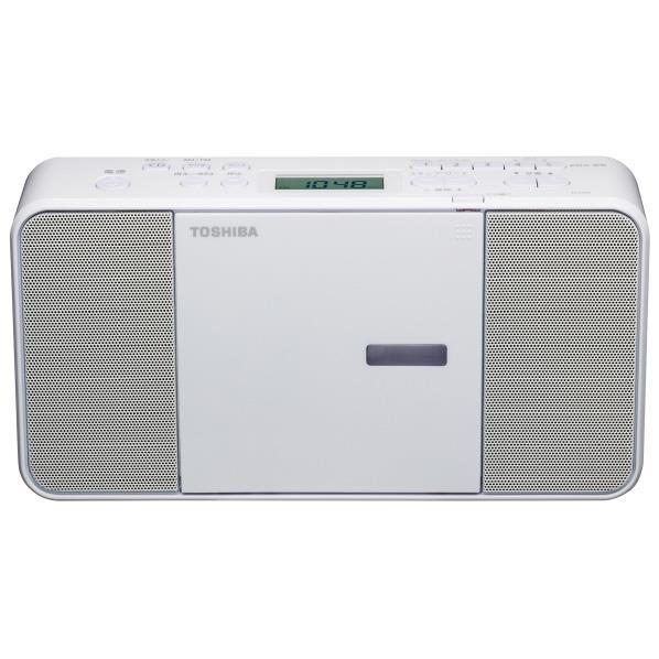 東芝 CDラジオ ホワイト TY-C250(W) [TYC250W]【RNH】