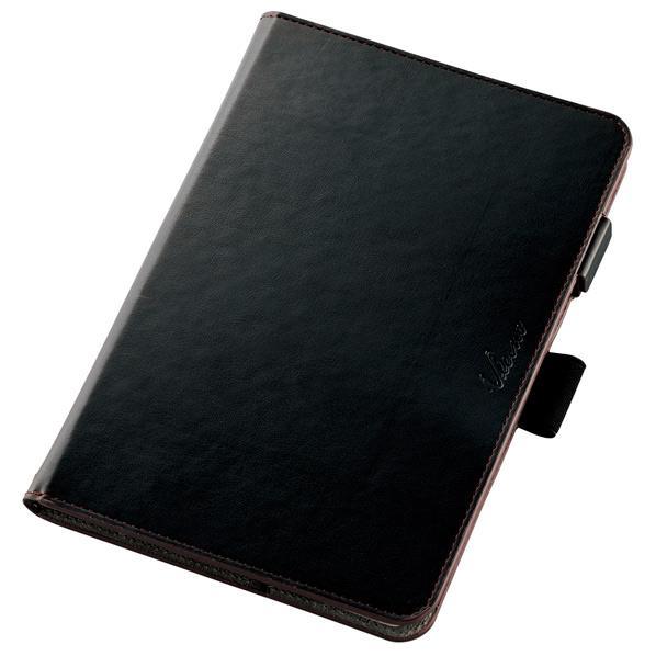 エレコム ZenPad 3 8.0用ソフトレザーカバー(360度) ブラック TB-AS581A360MBK [TBAS581A360MBK]