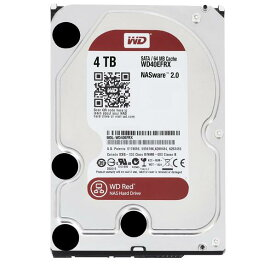 WESTERN 3.5インチ内蔵ハードディスクドライブ(4TB) WD Red WD40EFRX-RT2 [WD40EFRXRT2C]