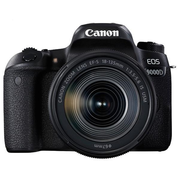 【送料無料】キヤノン デジタル一眼レフカメラ・EF-S 18-135 IS USM レンズキット EOS 9000D ブラック EOS9000D18135ISUSMLK [EOS9000D18135ISUSMLK]【RNH】