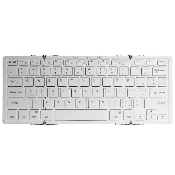 オウルテック Bluetoothキーボード ホワイト OWL-BTKB7801-WHSI [OWLBTKB7801WHSI]
