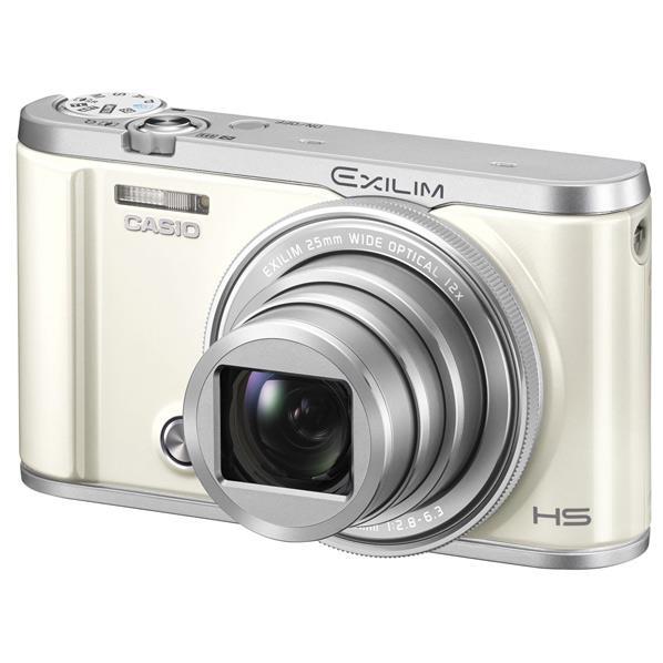 【送料無料】カシオ デジタルカメラ EXILIM ホワイト EX-ZR3200WE [EXZR3200WE]【RNH】