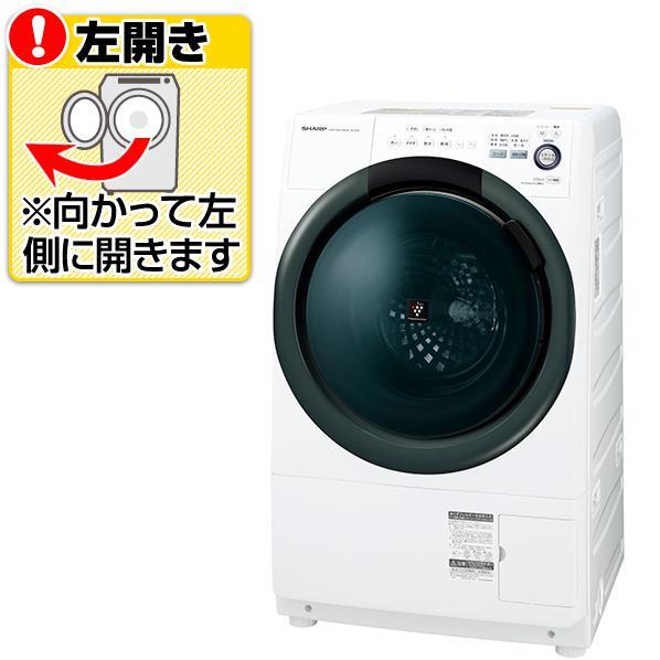 【送料無料】シャープ 【左開き】7.0Kgドラム式洗濯乾燥機 ホワイト系 ESS7BWL [ESS7BWL]【RNH】
