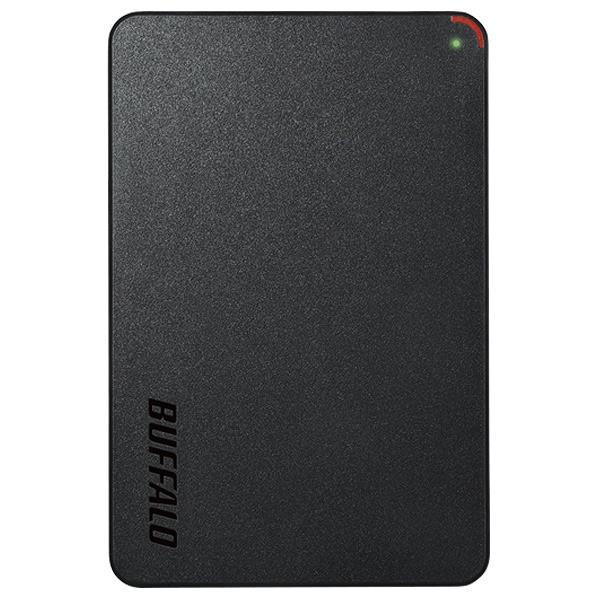 【送料無料】BUFFALO ターボPC EX2対応 USB3.1(Gen1)/USB3.0用ポータブルHDD(1TB) ミニステーション ブラック HD-PCF1.0U3-BBE [HDPCF10U3BBE]【KK9N0D18P】