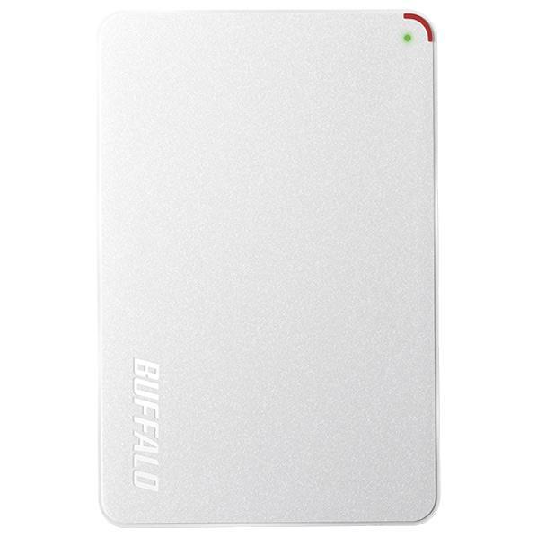 【送料無料】BUFFALO ターボPC EX2対応 USB3.1(Gen1)/USB3.0用ポータブルHDD(1TB) ミニステーション ホワイト HD-PCF1.0U3-BWE [HDPCF10U3BWE]【KK9N0D18P】