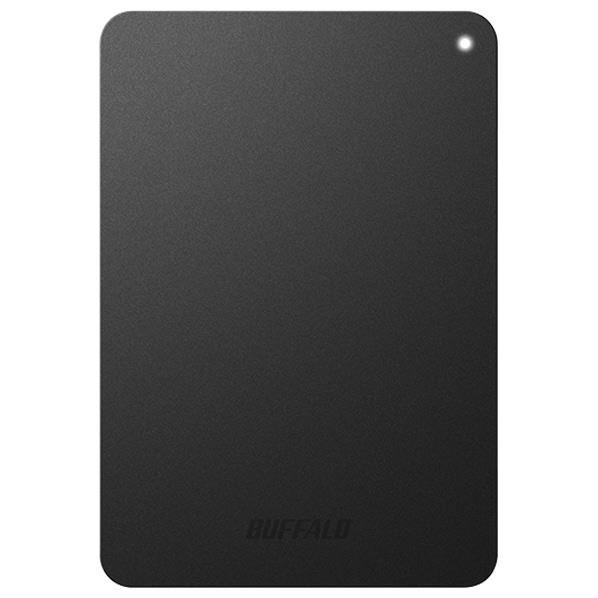 【送料無料】BUFFALO ターボPC EX2 Plus対応 耐衝撃&USB3.1(Gen1)/USB3.0用ポータブルHDD(2TB) ミニステーション ブラック HD-PNF2.0U3-GBE [HDPNF20U3GBE]【KK9N0D18P】【JMRN】