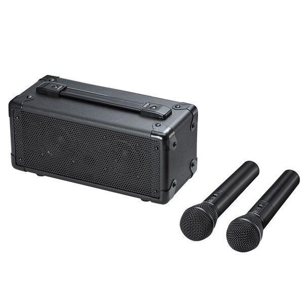 【送料無料】サンワサプライ ワイヤレスマイク付き拡声器スピーカー MM-SPAMP7 [MMSPAMP7]