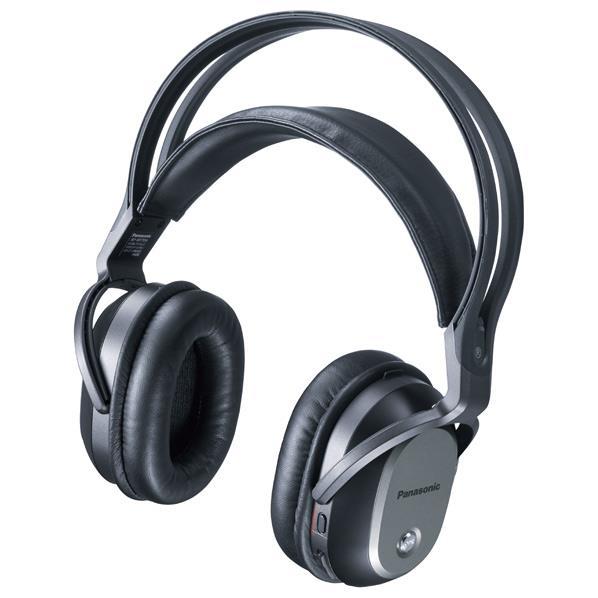 【送料無料】パナソニック 密閉ヘッドバンド型ワイヤレスヘッドフォン ブラック RP-WF70-K [RPWF70K]【RNH】