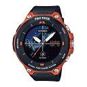 【送料無料】カシオ スマートウォッチ Smart Outdoor Watch PRO TREK smart オレンジ WSD-F20-RG [WSDF20RG]