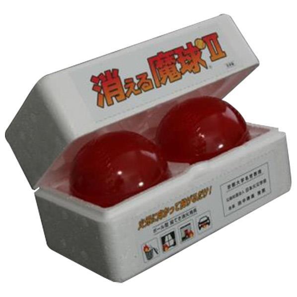 第一通商 ボール型投てき消火用具(2個入り) 消える魔球 MQ-2 [MQ2]