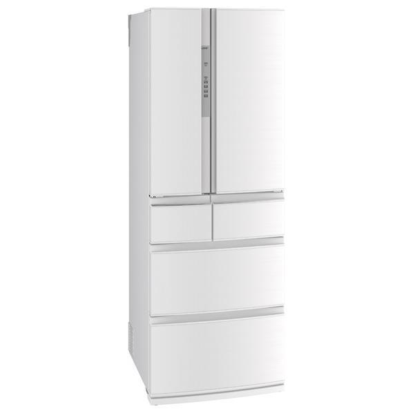 【送料無料】三菱 461L 6ドアノンフロン冷蔵庫 置けるスマート大容量 クロスホワイト MR-RX46A-W [MRRX46AW]【RNH】【JMRN】