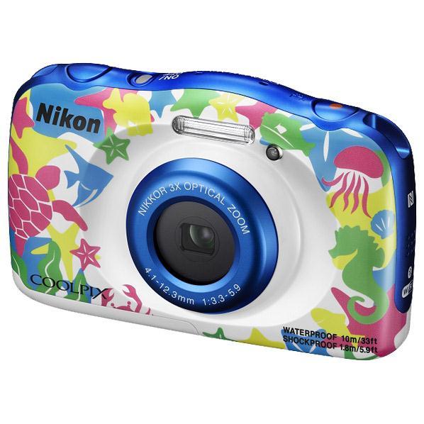 【送料無料】ニコン デジタルカメラ COOLPIX W100 マリン COOLPIXW100MR [COOLPIXW100MR]【RNH】