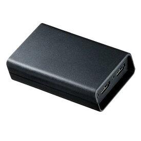 サンワサプライ DisplayPort MSTハブ(HDMI×2) ブラック AD-MST2HD [ADMST2HD]