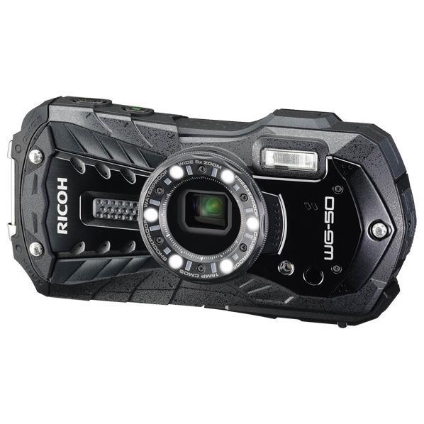 【送料無料】リコー デジタルカメラ ブラック WG-50 BK [WG50BK]【RNH】【ESLG】