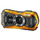 【送料無料】リコー デジタルカメラ オレンジ WG-50 OR [WG50OR]【RNH】